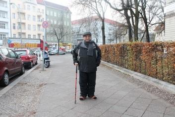 آخر صورة له قبل دخوله مستشفى القلب في برلين نوفمبر 2011