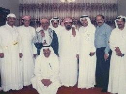 مع مجموعة من الاصدقاء في ابوظبي
