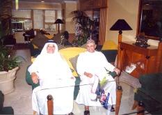 مع المرشدي في ابوظبي