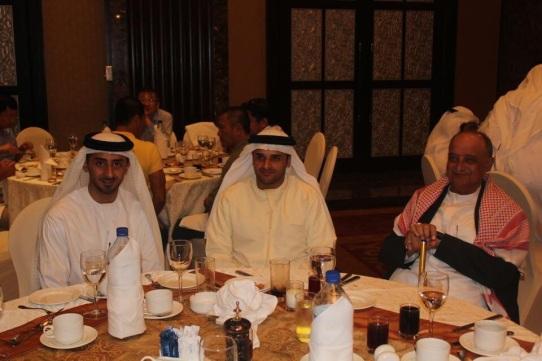 في حفل شركة الاتحاد لصناعة الأنابيب في 2012