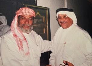 مع فضل محمد النقيب - أبوظبي